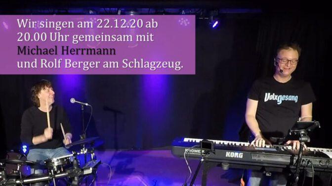 """Am 22.12.2020 """"nur"""" mit Michael und Rolf."""